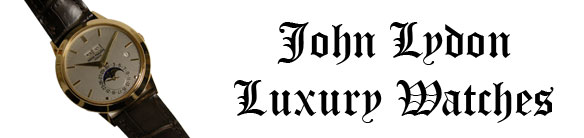 John Lydon Luxury Watches