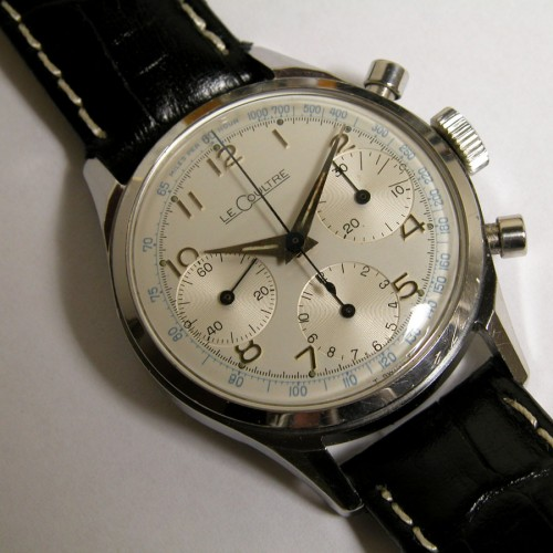 LeCoultre 3 register Chrongraph